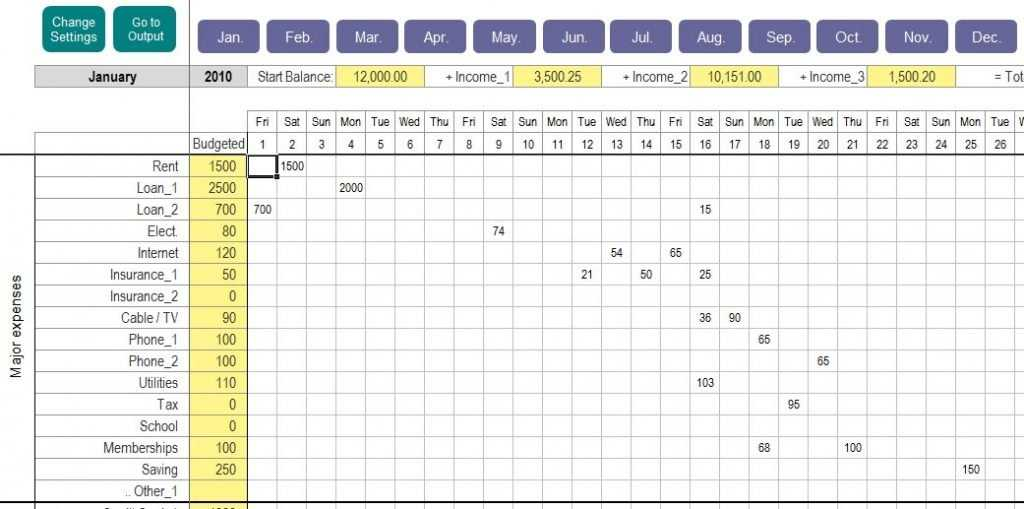 Excel Personal Expense Tracker My Excel Templates