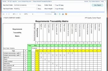 6 Requirements Traceability Matrix Template Excel Excel