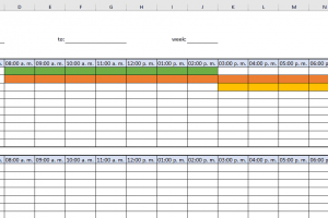 Convenient Excel Roster Template Shore Business Tips