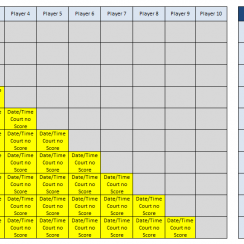 Free Easy To Use Excel Templates Round Robin Tennis