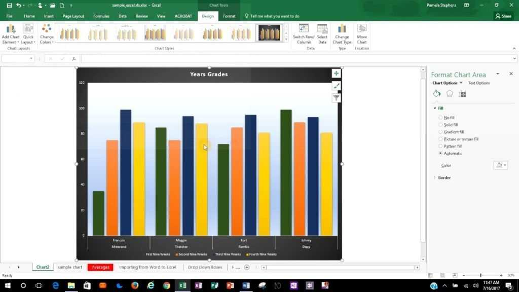 How To Save A Chart As A Template In Excel 2016 YouTube