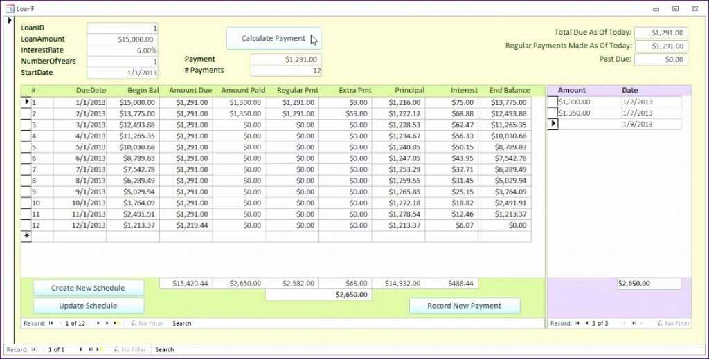 12 Student Loan Repayment Excel Template Excel Templates
