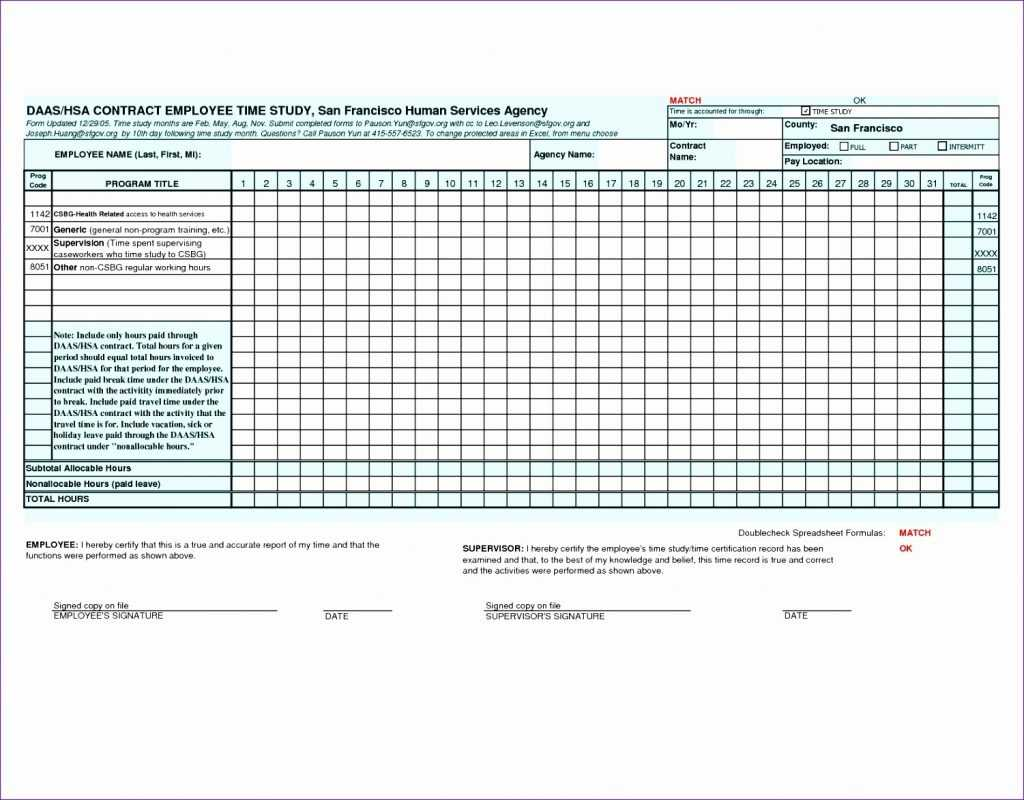 10 Time Motion Study Excel Template Excel Templates