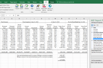 WIP XBRL Add in For Excel Altova