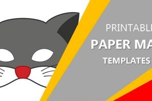Free Printable Paper Mask Paper Template