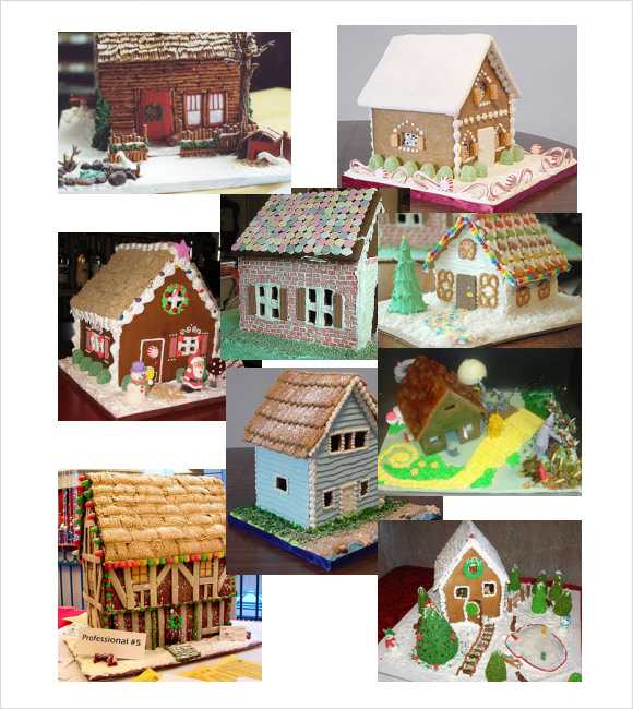 Sample Paper House Template
