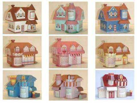 Papercraft Paper House Gallery Pdf Template