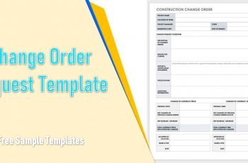 Change Order Request Template ExcelChange Order Request Template Excel