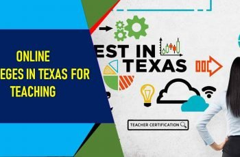 Online Colleges in Texas for Teaching