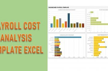 Payroll Cost Analysis Template Excel