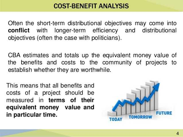 Public Project Cost Benefit Analysis
