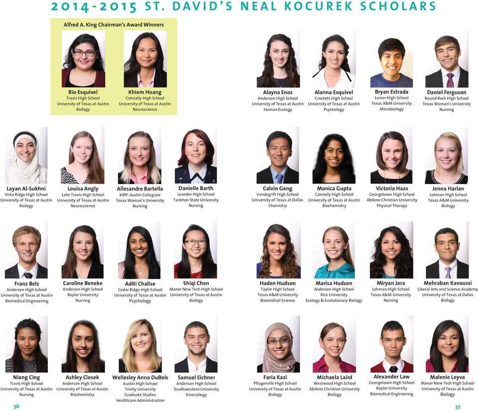St Davids Neal Kocurek Scholarship - Online Colleges in Texas that Accept Financial Aid